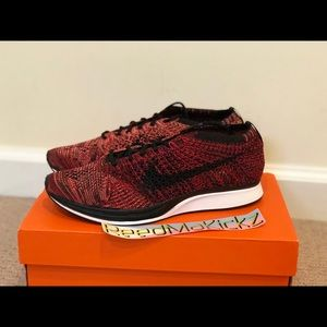 Nike Flyknit Racer Fire rooster university red
